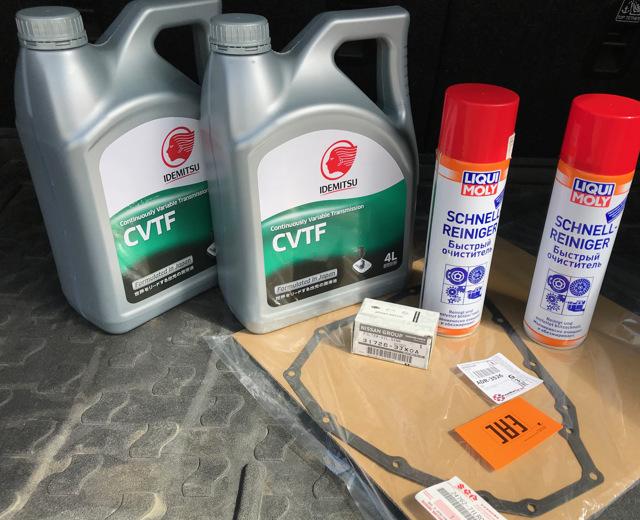 Какое масло нужно заливать в вариатор Тойота Витц
