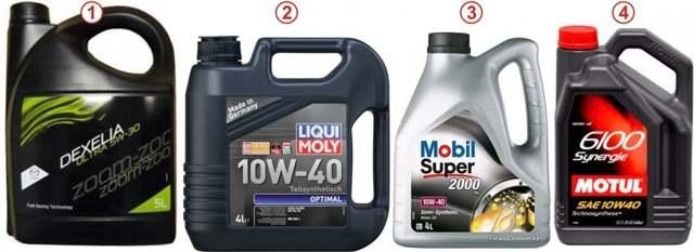 Какое масло лучше заливать в двигатель Мазда 3 1.6, 2.0