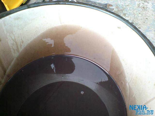Сколько масла в МКПП (коробке передач) Дэу Нексия