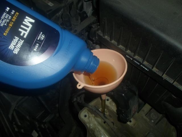 Какое масло заливать в механическую коробку передач Киа Рио Икс Лайн