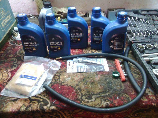 Сколько нужно литров масла для механической коробки передач Хендай Грета