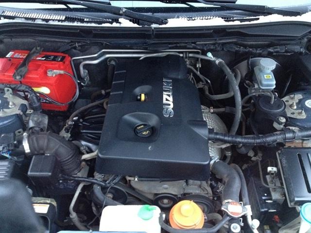 Сколько литров масла нужно заливать в двигатель Сузуки Эскудо 1.6, 2.0