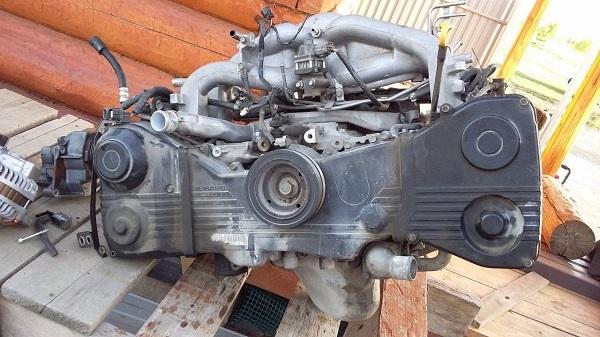 Сколько масла в двигателе Субару Импреза