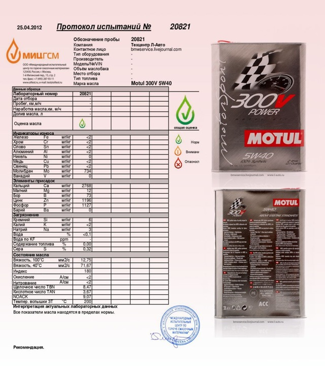 Какое масло лучше заливать в двигатель БМВ Е60 2.0, 2.2, 2.5, 3.0, 4.0, 4.4, 4.8