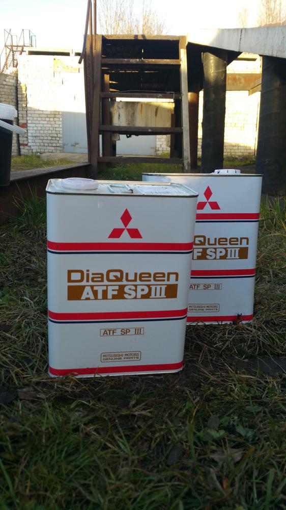 Сколько масла в АКПП (коробка автомат) Мицубиси Галант