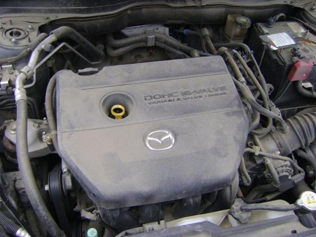 Сколько масла в двигателе Мазда 6 gg