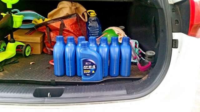 Сколько литров масла в АКПП (коробке автомат) Киа Сид