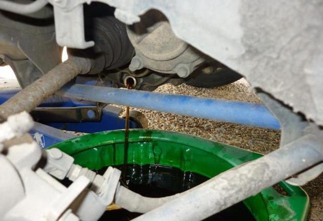 Какое масло заливать в коробку (МКПП) Датсун Он-До