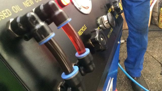 Какое масло заливать в АКПП (коробка автомат) Мерседес-Бенц w211