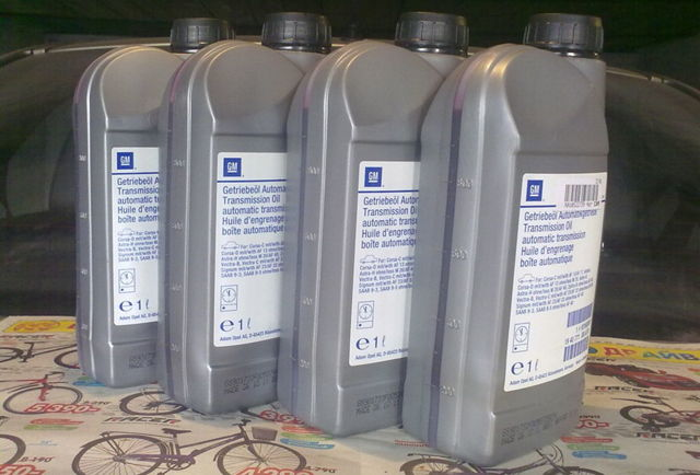 Сколько масла в АКПП (коробка автомат) Опель Антара