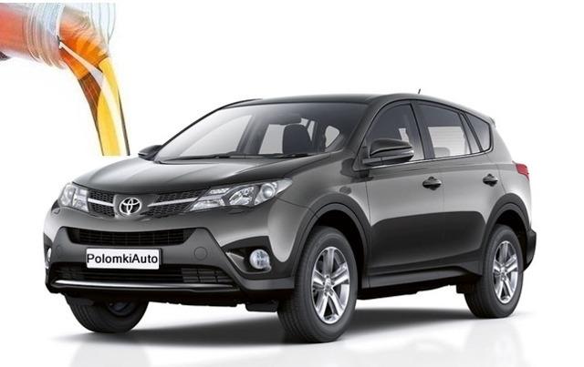 Сколько литров масла нужно заливать в двигатель Тойота Рав 4 - 3, 4 поколение