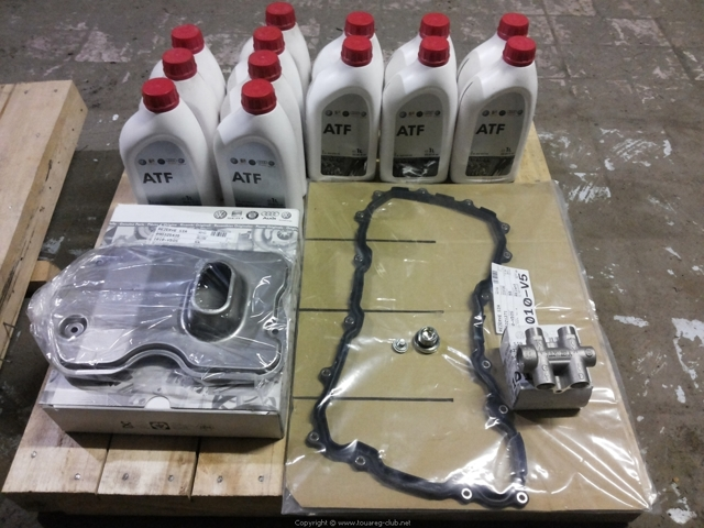 Замена масла в АКПП (коробка автомат) Фольксваген Тигуан своими руками на видео