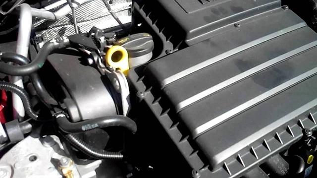 Сколько масла в двигателе Шкода Рапид 1.6 90 л. с.