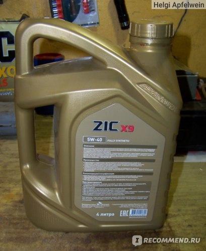 Обзор на моторное масло zic x9 5w-30 : характеристики, отзывы владельцев