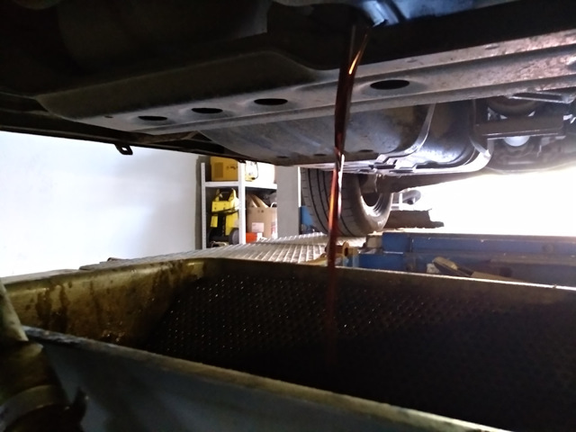 Сколько масла в АКПП (коробка автомат) Мицубиси asx