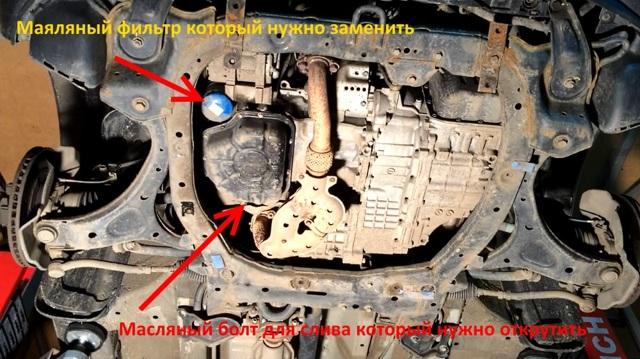 Сколько литров масла нужно заливать в двигатель Хендай Санта Фе 2.2