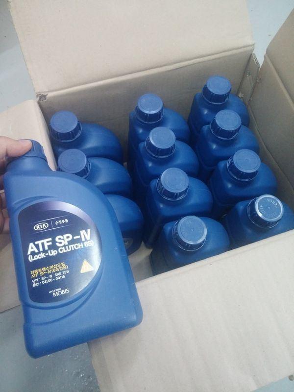 Сколько масла в АКПП (коробка автомат) Киа Церато