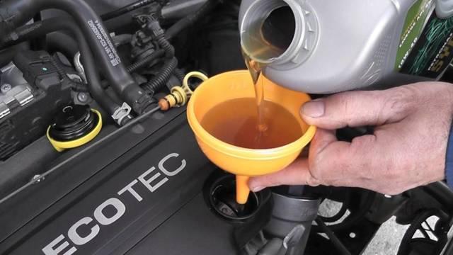 Сколько масла в двигателе Опель Мокка