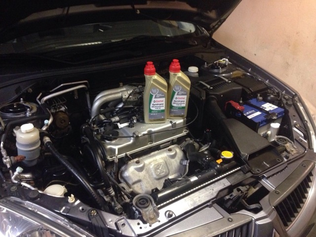 Сколько масла в МКПП (коробке передач) Мицубиси Лансер 10