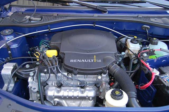 Какое масло заливать в двигатель Рено Логан 1.6 8 и 16 клапанов