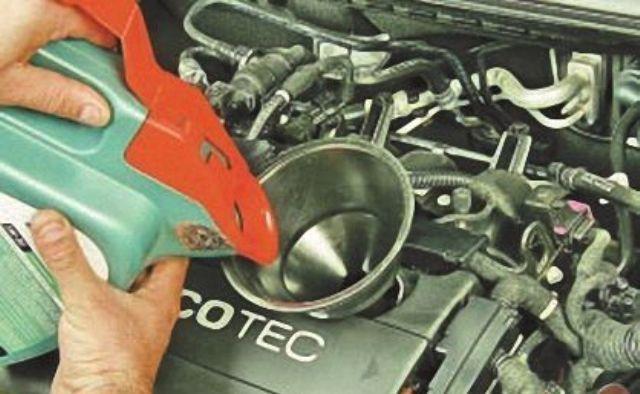 Сколько масла в двигателе Опель Астра g