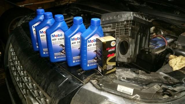 Какое масло заливать в АКПП (коробка автомат) Рендж Ровер Спорт