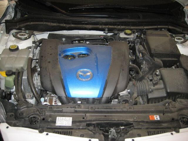 Сколько масла в двигателе Мазда 3