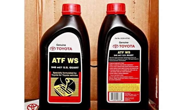 Сколько литров масла нужно заливать в АКПП Тойота Камри v50 2.0, 2.5, 3.5