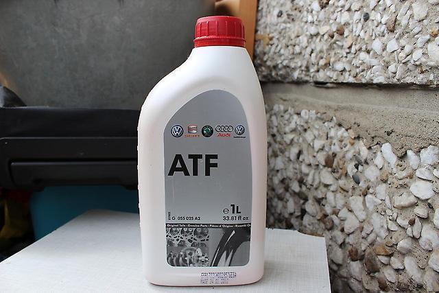Сколько масла в АКПП (коробка автомат) Фольксваген Тигуан
