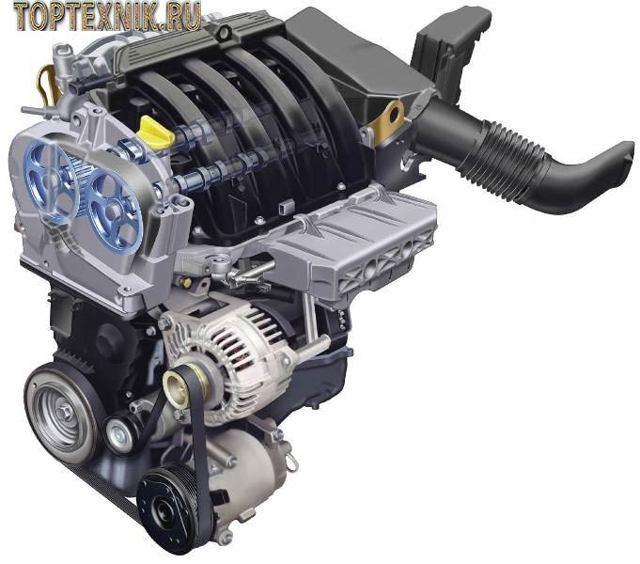 Сколько масла в двигателе renault k4m