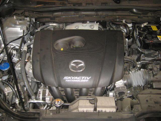Сколько масла в двигателе Мазда 6 gj