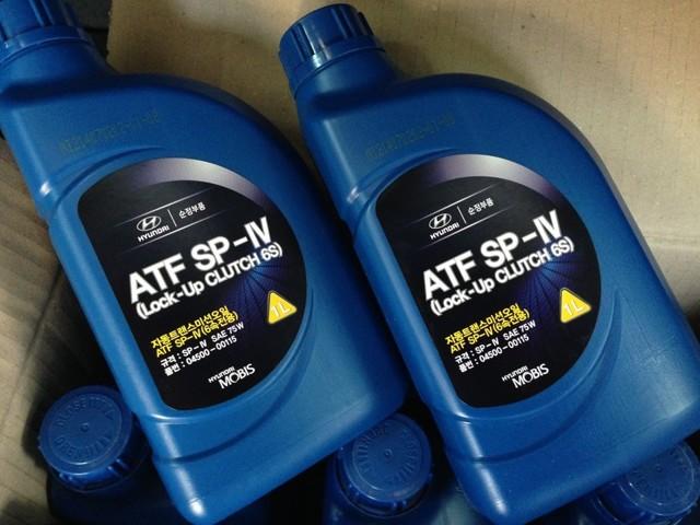 Сколько масла в АКПП (коробка автомат) Хендай ix35