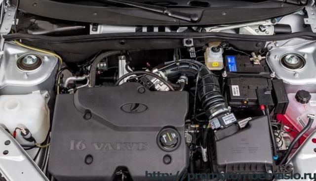Какое масло заливать в двигатель 16 клапанов Лада Гранта