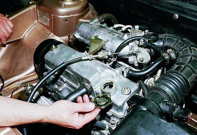 Замена масла в двигателе ВАЗ 2114 - пошаговая инструкция
