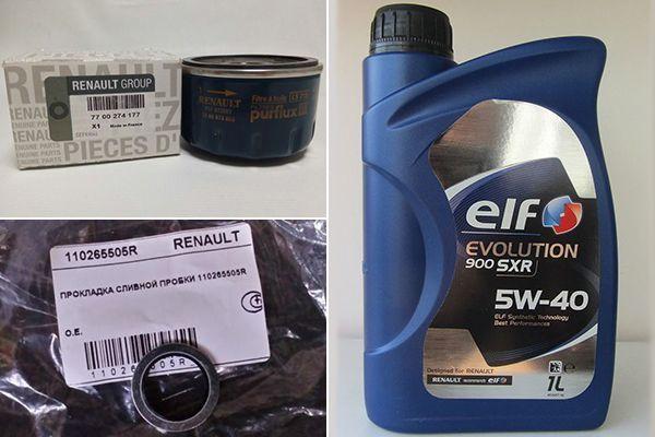 Сколько литров масла нужно заливать в двигатель Рено Кангу 1.2, 1.4, 1.5, 1.6, 1.9