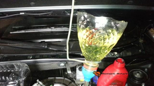 Сколько масла в МКПП (коробке передач) Датсун Ми До
