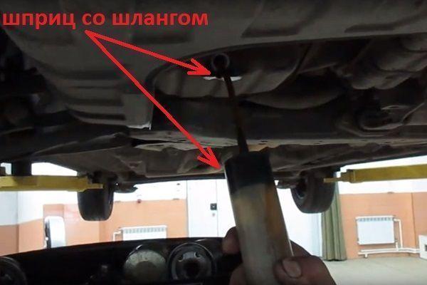 Замена масла в двигателе 1.6 Шевроле Круз видео своими руками