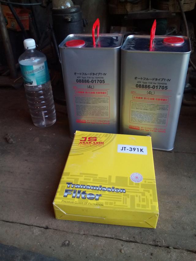 Сколько литров масла нужно заливать в АКПП Тойота Карина