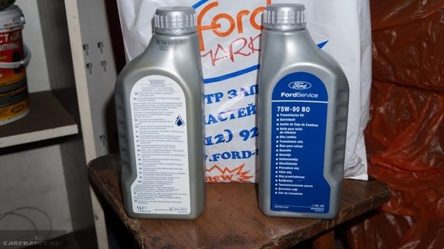 Сколько масла в МКПП (коробка передач) Форд Транзит