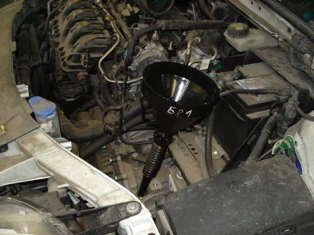 Замена масла в АКПП Форд Мондео 4 поколения своими руками