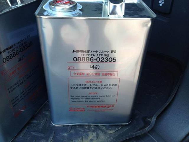 Сколько литров масла нужно заливать в АКПП Тойота Ленд Крузер 200