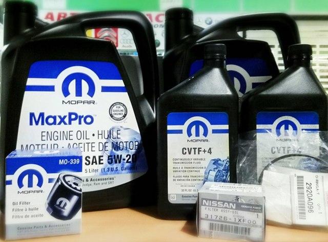 Сколько литров масла нужно заливать в вариатор Додж Калибр