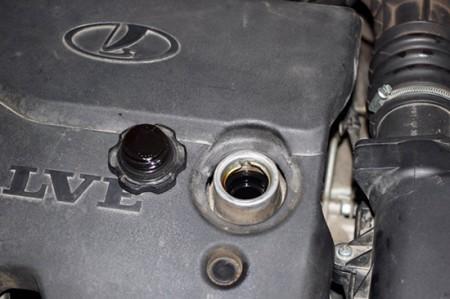 Сколько масла в двигателе Лада Приора